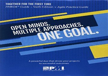 Read A guide to the Project Management Body of Knowledge (PMBOK guide)   Agile practice guide bundle | Online