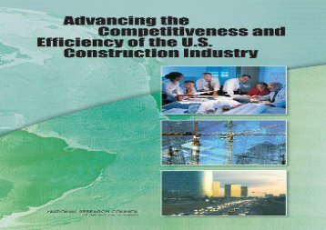 Read Advancing the Competitiveness and Efficiency of the U.S. Construction Industry | Ebook
