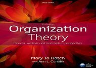 Read Organization Theory: Modern, Symbolic, And Postmodern Perspectives | Ebook