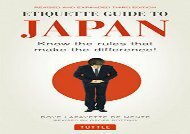 Download Etiquette Guide to Japan: Know the Rules That Make the Difference! | Ebook