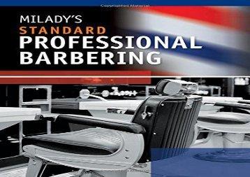 PDF Milady s Standard Professional Barbering   PDF File