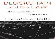 Download Blockchain and the Law: The Rule of Code | Download file