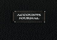 Free Accounts Journal: Journal Entires For Financial Accounting, General Accounting Notebook (V2)   pDf books