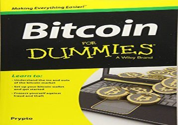 Download Bitcoin For Dummies | Online