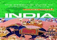 Download India: The Essential Guide to Customs   Culture (Culture Smart!) | pDf books
