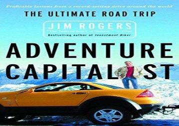 Free Adventure Capitalist: The Ultimate Road Trip | Ebook