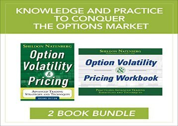 Free The Option Volatility and Pricing Value Pack | Ebook