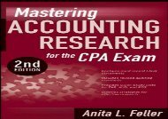 Read Mastering Accounting Research for the CPA Exam | PDF File
