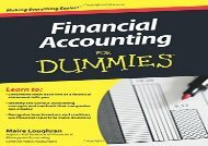 Free Financial Accounting for Dummies (US Edition)   pDf books