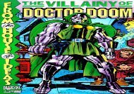 Free The Villainy of Doctor Doom (Marvel Comics) | pDf books