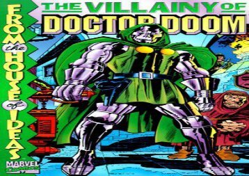 Free The Villainy of Doctor Doom (Marvel Comics) | pDf books