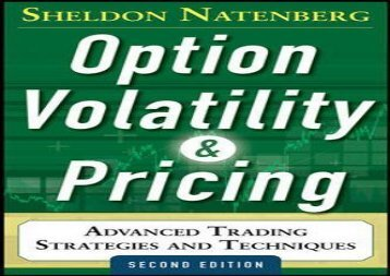 Free Option Volatility and Pricing: Advanced Trading Strategies and Techniques, 2nd Edition | Download file