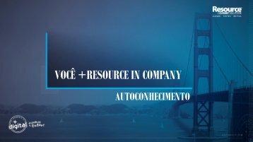 Você + Resource In Company - Autoconhecimento