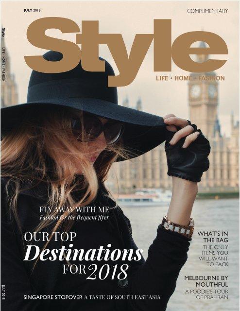Style: July 06, 2018