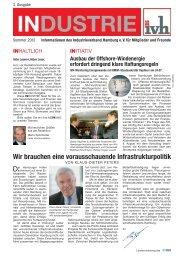 industrie - beim Industrieverband Hamburg eV