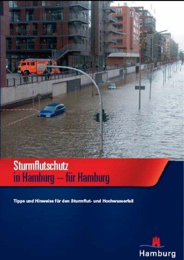Sturmflutschutz in Hamburg g - Hochwasser