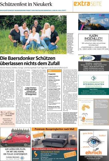 Schützenfest in Nieukerk  -05.07.2018-