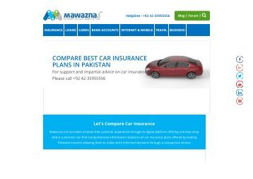 automobile insurance pakistan