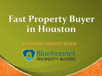 Fast Property Buyer in Houston