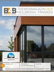 BAUWIRTSCHAFT | B4B Themenmagazin 07/08.2018