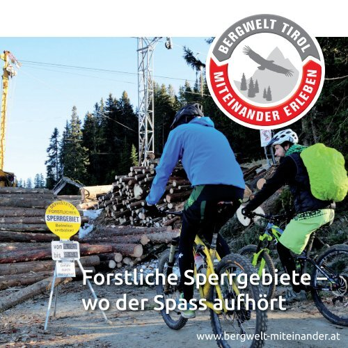 Folder forstliche Sperrgebiete Download