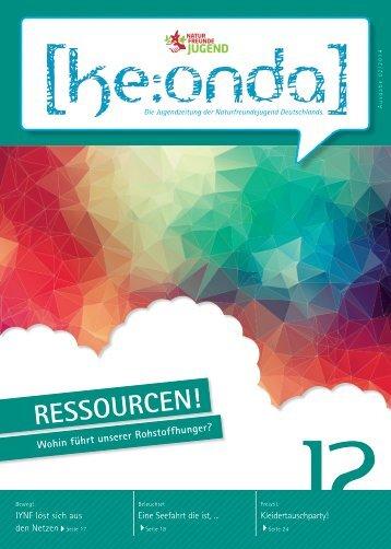 [ke:onda] 2/2014 - Ressourcen!