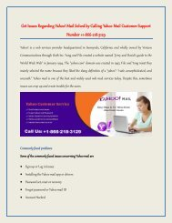 Yahoo Email Customer Help Support Service +1-866-218-3129 Helpline Number