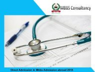 Mbbs Admission abroad 2018