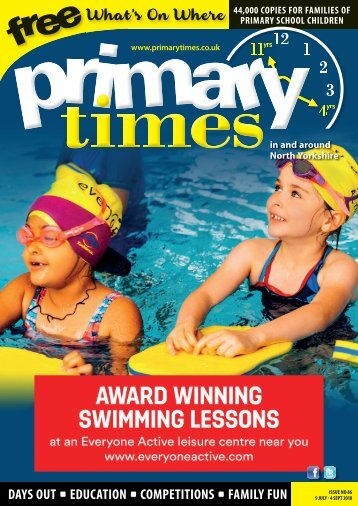 Primary Times North & East Yorkshire Summer 18
