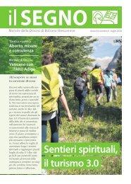 Il Segno - Mensile della Diocesi die Bolzano-Bressanone - Anno 54, numero 4, luglio 2018