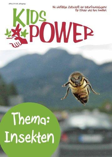 """KidsPower """"Insekten"""" 2/2014"""