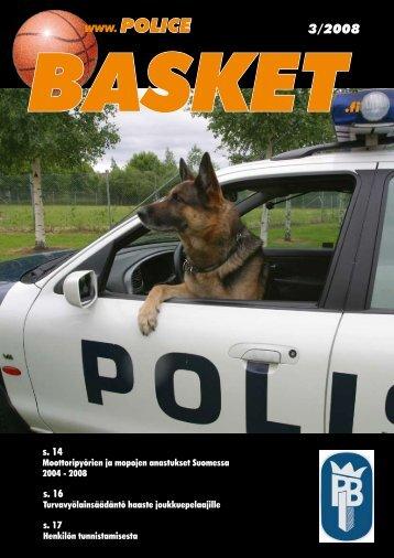 lehti syksy 2008 - Police Basket, Helsinki