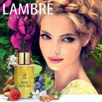 Lambre - Summer 2018 catalogue 20.5x20.5 FINAL