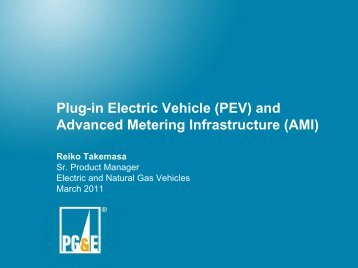 Plug-in Electric Vehicle (PEV) - Electric Power Research Institute ...