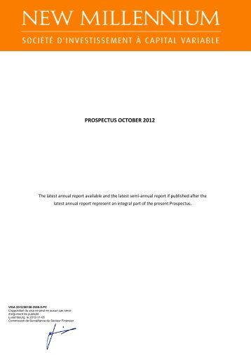 PC NMS October 2012 clean version CSSF 3010 pour VISA FINAL