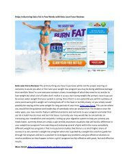 Keto Lean Force Shark Tank - Reduce Your Hunger And Maintain Body Shape