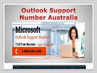 Toll-Free Outlook Contact 1-800-383-368 Number Australia- For Instant Help