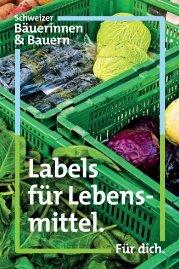 Minibroschüre Labels im Schweizer Lebensmittelmarkt