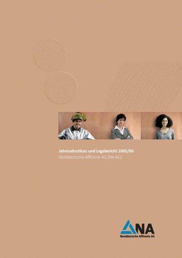Jahresabschluss und Lagebericht der NA AG (PDF 500 - Aurubis