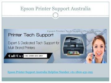 epson printer helpline number australia +61-1800-431-295