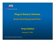 Plug-in Electric Vehicles - California Public Utilities Commission