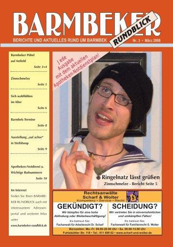 Barmbeker Rundblick Nr. 3 - März 2008 - Die Fuhle