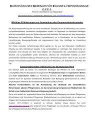 europäisches seminar für equine lymphdrainage esel - Manuelle ...