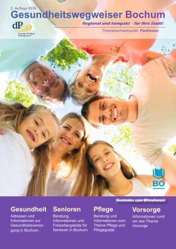 Gesundheitswegweiser Bochum 2. Auflage