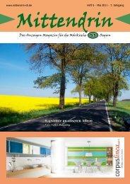 Ausgabe Mai 2011 - mittendrin-s5.de