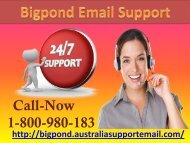Solve Sign In Issue Via Getting Bigpond Email Support | 1-800-980-183