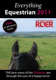 Everything Equestrian 2011 - Chiltern and Thames Rider Magazine