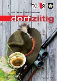Dorfziitig November 2012 - Gemeinde Winkel