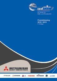 MITSUBISHI Katalog 2018 / 2019