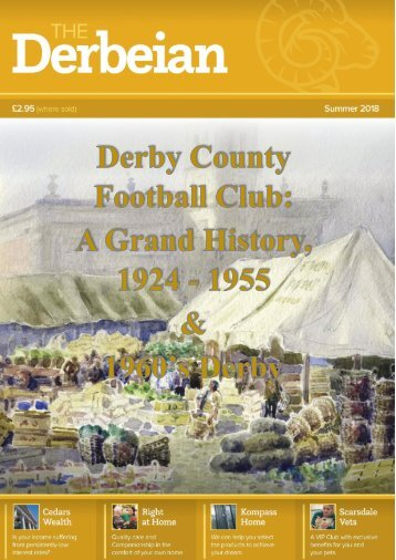 Featured article DCFC, A grand history 1925-1955 and 1960 Derby